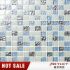 Blue Normal Glass Mosaic Tile for Pool Salle de bain Salle de bain