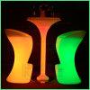플라스틱 바 의자 발판 RGB 빛을내는 가구