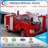 Acqua del camion del serbatoio di acqua e camion dei vigili del fuoco multifunzionali della gomma piuma