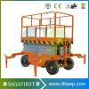 La SAFA première plateforme élévatrice hydraulique mobile