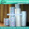 Documento della versione del nastro adesivo, documento stampato della versione per i tovaglioli sanitari/distributore,