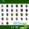Filamento de alta densidad modificado para requisitos particulares ABS/PLA de la impresora 3D de los colores 1kg 1.75m m