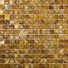 Mosaico teñido shell de agua dulce del color
