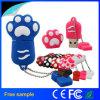 도매 싼 동물성 인쇄 PVC USB 플래시 메모리 지팡이
