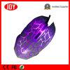 Освещенная контржурным светом СИД связанная проволокой 6D мышь разыгрыша USB оптически