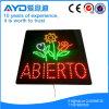 Muestra sensible cuadrada de la flor LED de Hidly