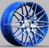 Roue bleue, roue de marché des accessoires, RIM de Customed