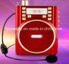 Altavoz portable de radio de la tarjeta FM