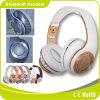 De draadloze Hoofdtelefoon van de Hoofdtelefoon Bluetooth met Hands-Free Microfoon en Mic