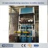 固体タイヤのためのゴム製油圧加硫の出版物機械