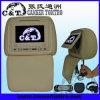 Copertura della chiusura lampo del giocatore del poggiacapo dell'automobile DVD con lo schermo di monitor dell'affissione a cristalli liquidi di TFT, USB, deviazione standard, Fm, cuffia senza fili di IR, gioco a 32 bits (H703DVC)