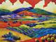 Pittura a olio pesante di colore (flyartxm-0007)