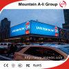 P10 impermeabilizan la publicidad del panel a todo color al aire libre de la INMERSIÓN LED