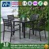 Tabela do jardim e 4 cadeiras que jantam a mobília ajustada do pátio (TG-HL808) que janta jogos