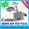 VGAケーブル(Mdpc603)への小型Dp