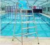 Roestvrij staal 304 de Vaste Ligstoel van het Zwembad