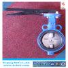 En1092 StandaardVleugelklep bct-Wbfv-14 van het Centrum van het Wafeltje van het Handvat Hand