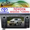 Reproductor de DVD especial del coche para la secoya/la tundra (CT2D-ST8) de Toyota