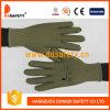 2017 Ddsafety Цветочный дизайн сада женщин перчатки с зеленой точки на упоре для рук