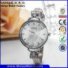 Polshorloges van de Manier van de Dames van het Horloge van het Kwarts van het Embleem van de douane de Toevallige (wy-068D)