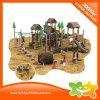 Скольжение спортивной площадки многофункционального деревянного типа дома напольное для детей