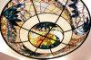 Los diseños de la lámpara de Tiffany cúpula de vidrieras personalizado para la venta