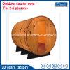 20 anni della fabbrica del cedro rosso di sauna di sauna esterna Rrom del barilotto