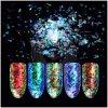 Fiocchi della polvere di scintillio di lustro di Paillette della decorazione di arte del chiodo
