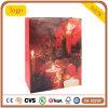 Bolsas de papel revestidas del regalo del arte rojo de la vela de la acción de gracias de la manera