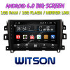 Witson 10,2 большой экран Android 6.0 DVD для автомобилей Nissan Navara/Np300/Аляскинских