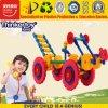 Jouets en plastique de construction de PVC pour les enfants 3+