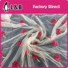 刺繍の網のレースの/Tulleの刺繍の花のレース