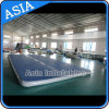 15m Gimnasio Estera inflable Air Tumble Track Gymnastics Crash Mats