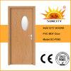 Prix unique en verre de trappe intérieure de PVC de première conception (SC-P060)
