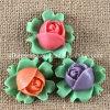 Molde del silicón F1251 para la flor Jewellry, los collares, los pendientes, las pulseras, los anillos, y el sombrero, torta que adorna la flor del molde del silicón