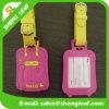 Изготовленный на заказ бирка багажа печатание и логоса 3D резиновый (SLF-LT077)