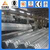 Передние стальные труба горячего DIP гальванизированные стальная/материал пробки Q195-Q345 для рамки парника, столбов загородки