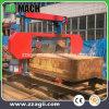 Serrería de madera horizontal de la venda de la alta calidad profesional