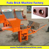 Машина делать кирпича малой почвы ручная блокируя, машина давления блока