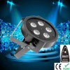 5PCS 10W RGBW LED Flat PAR Light