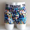 2015 Shorts de confeção de malhas do pugilista da impressão nova da forma da chegada