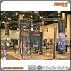 Mostrar el stand de exposiciones de la armadura de aluminio