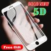 5D для мобильных ПК аксессуары для телефонов закаленное стекло защитная пленка для экрана ограждения Def защитная пленка для iPhone 6s/7/X Smax
