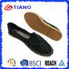 方法平らで、歩きやすいEspadrillesの女性の靴(TN36700)