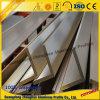 Perfil de aluminio de la esquina de la pared del perfil del ángulo para decorativo interior del edificio