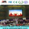 P10 impermeable al aire libre que hace publicidad de la pantalla de visualización de LED