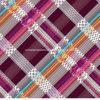 100%Polyester вкосую решетка Pigment&Disperse напечатала ткань для комплекта постельных принадлежностей