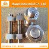 Boulon ASTM A193 de goujon de l'acier inoxydable B8 B8m de qualité