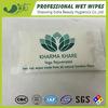 Natürliche Bambusfaser-persönliche Sorgfalt-nasse Wischer