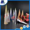 Cono modificado para requisitos particulares disponible del papel de helado con el papel de aluminio del lacre